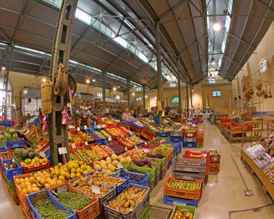 Фруктовый рынок Лимасола